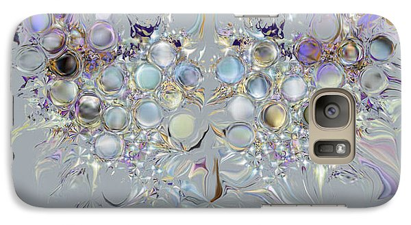 Galaxy Case featuring the digital art Four Point Star by Loxi Sibley