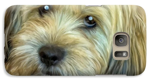 Galaxy Case featuring the painting Chewy by Michael Pickett