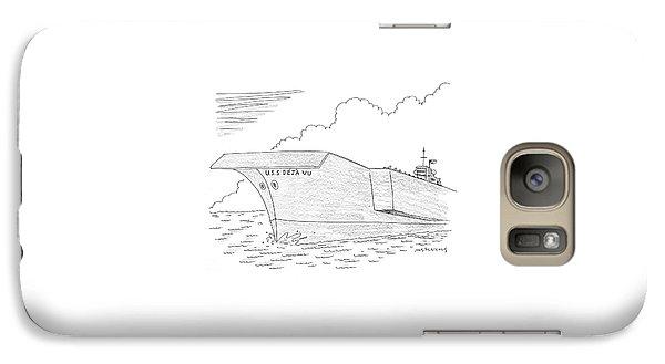 U.s.s. Deja Vu Galaxy S7 Case by Mick Stevens