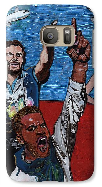 Untitled Panel 2 Of 3 Galaxy S7 Case by David Moriarty