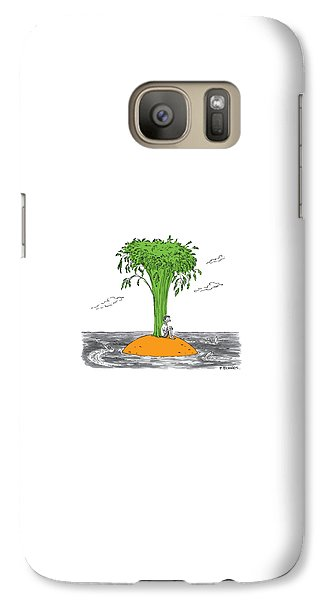 Carrot Galaxy S7 Case - New Yorker January 16th, 2017 by Pat Byrnes