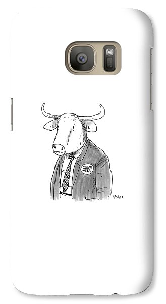 New Yorker October 24th, 2016 Galaxy S7 Case
