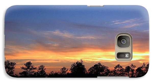 Galaxy Case featuring the photograph Untitled Sunset #36 by Bill Lucas