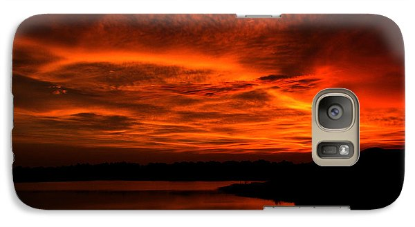 Galaxy Case featuring the photograph Untitled Sunset #38 by Bill Lucas