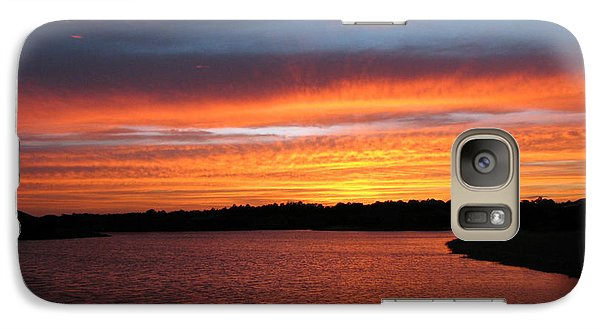Galaxy Case featuring the photograph Untitled Sunset #39 by Bill Lucas