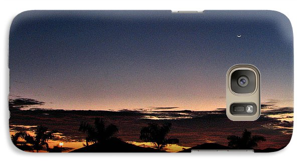 Galaxy Case featuring the photograph Untitled Sunset #40 by Bill Lucas
