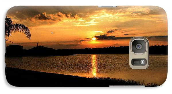Galaxy Case featuring the photograph Untitled Sunset #41 by Bill Lucas