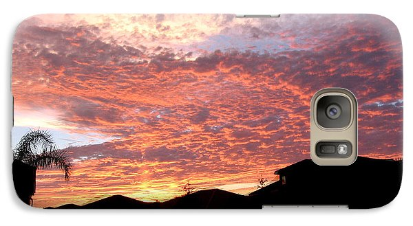 Galaxy Case featuring the photograph Untitled Sunset #42 by Bill Lucas