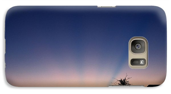 Galaxy Case featuring the photograph Untitled Sunset #44 by Bill Lucas