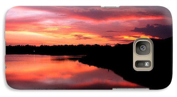 Galaxy Case featuring the photograph Untitled Sunset #45 by Bill Lucas