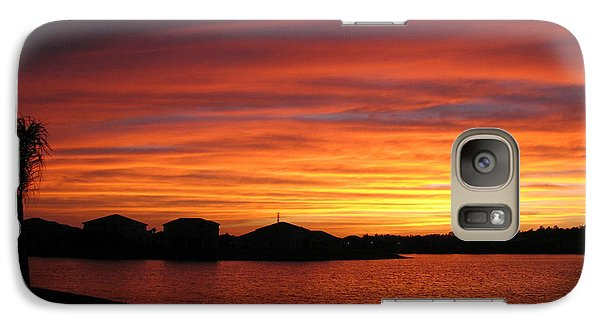 Galaxy Case featuring the photograph Untitled Sunset #46 by Bill Lucas