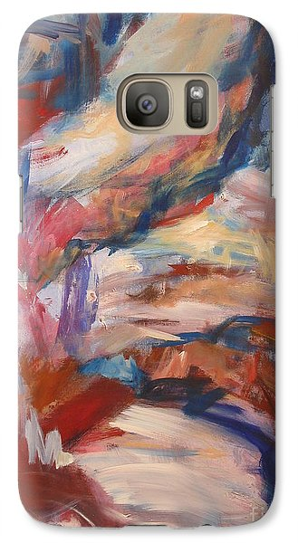 Galaxy Case featuring the painting Untitled V by Fereshteh Stoecklein