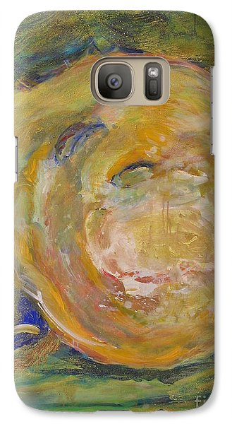 Galaxy Case featuring the painting Untitled Vii by Fereshteh Stoecklein