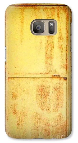 Galaxy Case featuring the photograph Unused Door by Clare Bevan