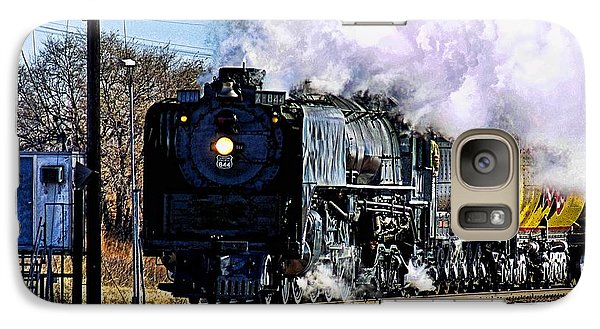 Galaxy Case featuring the photograph Up 844 Movin' On by Bill Kesler