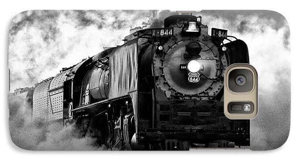 Galaxy Case featuring the photograph Up 844 Steaming It Up by Bill Kesler