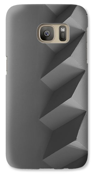 Galaxy Case featuring the photograph Up And Down - Abstract by Steven Milner