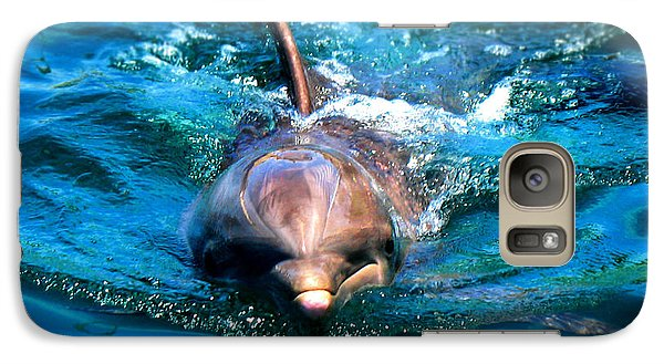 Galaxy Case featuring the photograph Up Close And Personal by Kristine Merc