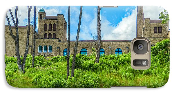 Galaxy Case featuring the photograph Up On The Bluff by MJ Olsen