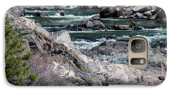 Galaxy Case featuring the photograph Up The Creek by Jan Davies