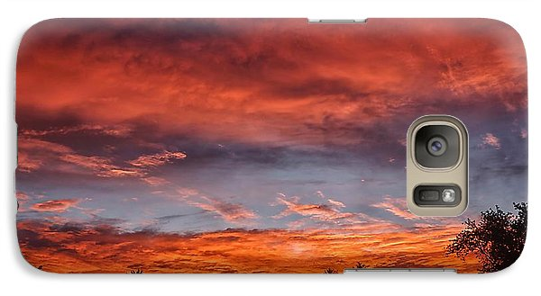 Galaxy Case featuring the photograph Upper Arlington Sunrise by Beth Akerman