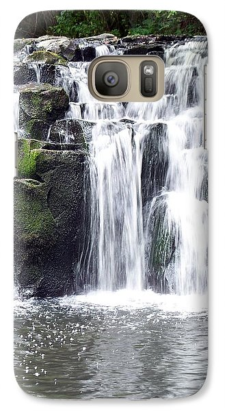 Galaxy Case featuring the photograph Upper Beaver Falls by Chalet Roome-Rigdon
