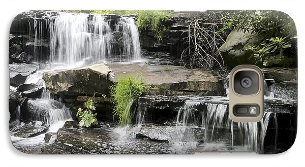 Galaxy Case featuring the photograph Upper Goose Creek Falls by Robert Camp