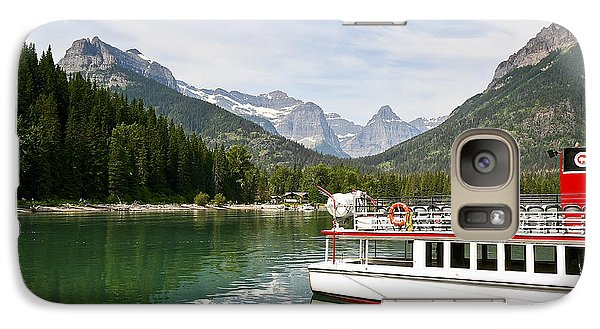Galaxy Case featuring the photograph Upper Waterton Lakes by Teresa Zieba