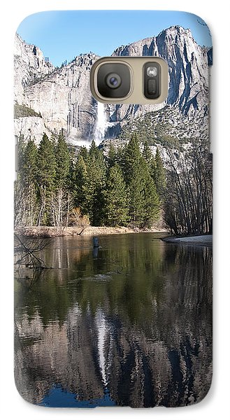 Galaxy Case featuring the photograph Upper Yosemite Fall by Shane Kelly