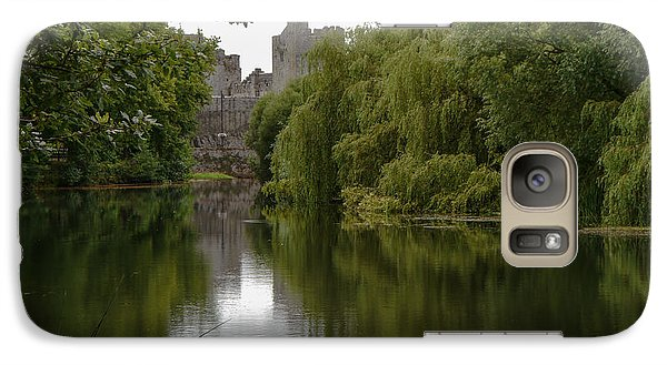 Galaxy Case featuring the photograph Upriver From Cahir Castle by Winifred Butler