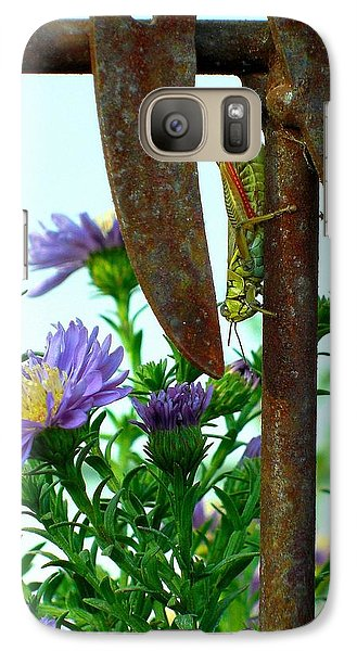 Galaxy Case featuring the photograph Upside Down by Heidi Manly