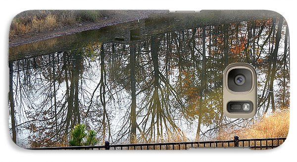 Galaxy Case featuring the photograph Upside Down by Pete Trenholm