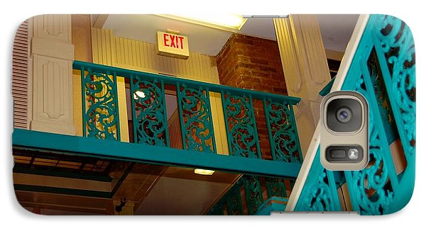 Galaxy Case featuring the photograph Upstairs Exit by Bob Pardue