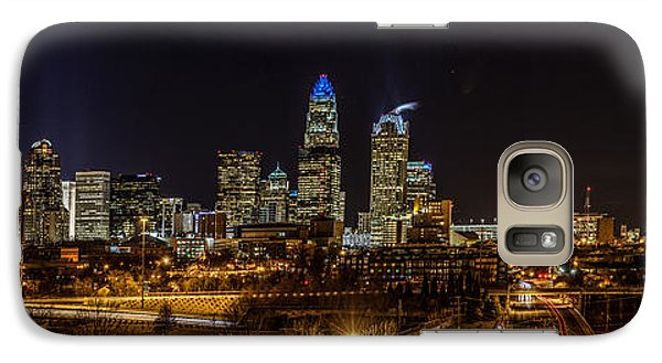 Uptown Charlotte Panorama Galaxy S7 Case