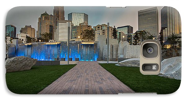 Galaxy Case featuring the photograph Uptown Charlotte by Serge Skiba