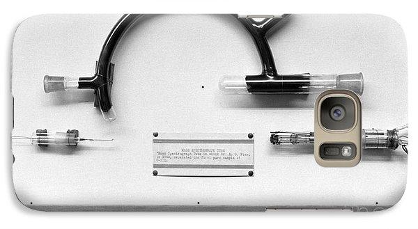 Uranium Separation Equipment, 1950s Galaxy S7 Case by Emilio Segre Visual Archives/american Institute Of Physics