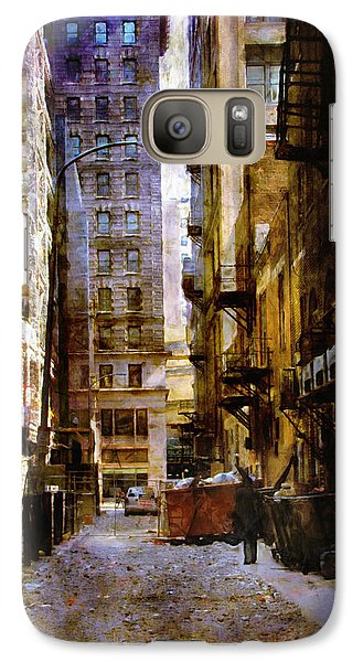 Galaxy Case featuring the photograph Urban Back Streets by John Rivera