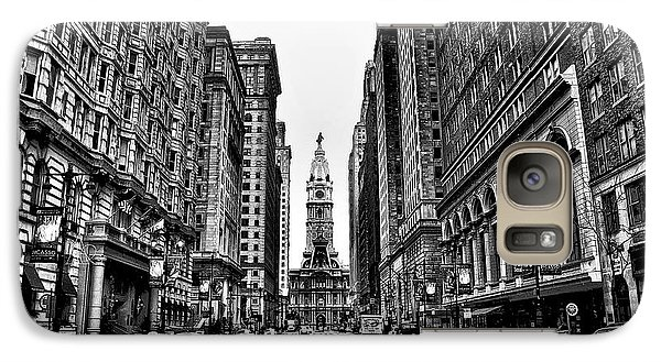 Urban Canyon - Philadelphia City Hall Galaxy Case by Bill Cannon