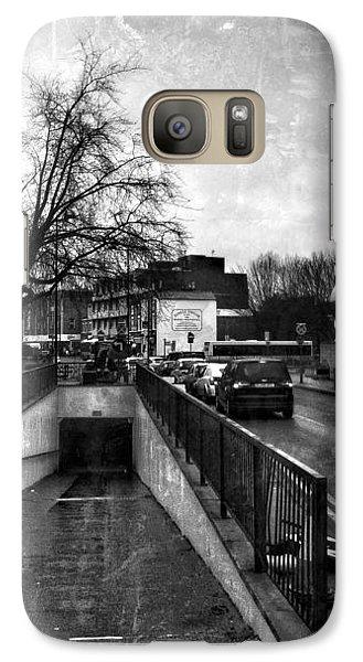 Galaxy Case featuring the digital art Urban City  by Fine Art By Andrew David