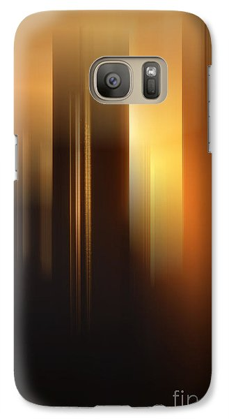 Galaxy Case featuring the photograph Urban Dawn II by Jessie Parker