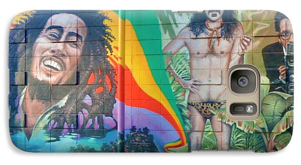 Galaxy Case featuring the photograph Urban Graffiti 1 by Janice Westerberg