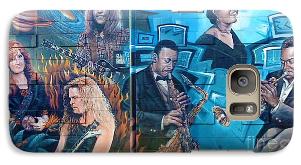 Galaxy Case featuring the photograph Urban Graffiti 2 by Janice Westerberg