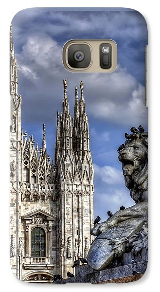 Urban Jungle Milan Galaxy S7 Case by Carol Japp