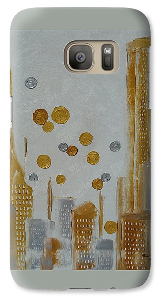 Galaxy Case featuring the painting Urban Polish by Judith Rhue