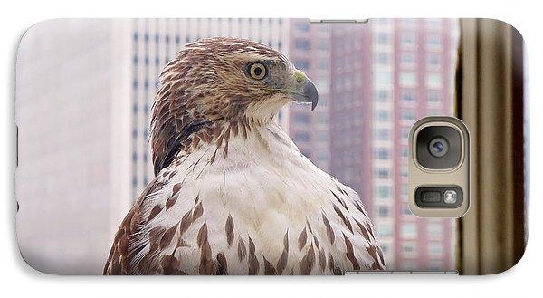 Urban Red-tailed Hawk Galaxy S7 Case