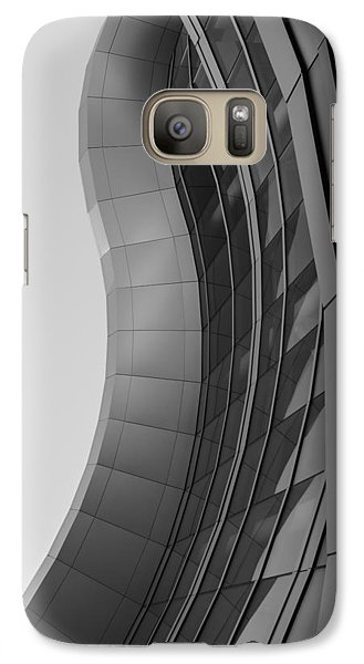 Galaxy Case featuring the photograph Urban Work - Abstract Architecture by Steven Milner