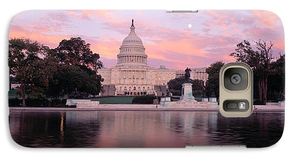Us Capitol Washington Dc Galaxy S7 Case by Panoramic Images