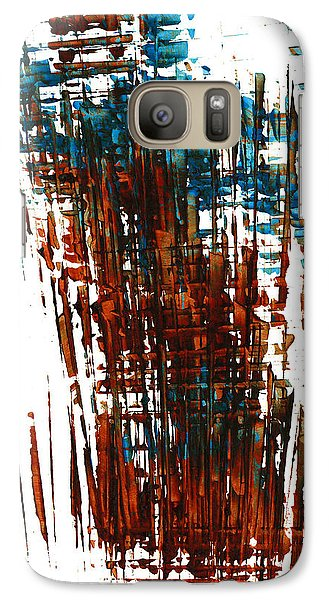 Galaxy Case featuring the painting Us In The Divine 264.111011 by Kris Haas