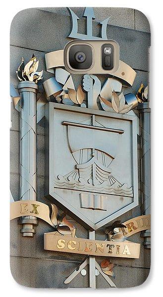 Us Naval Academy Insignia Galaxy S7 Case