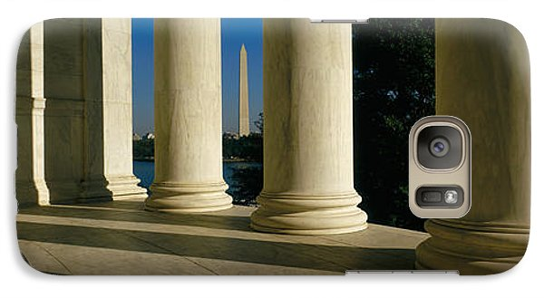 Usa, District Of Columbia, Jefferson Galaxy Case by Panoramic Images
